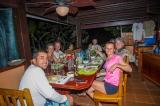 Dinner at Saladero Eco-Lodge, Costa Rica