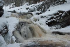 High Falls (winter rapids)