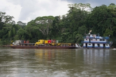 Departing down river to Sani Lodge - Napo River, Ecuador
