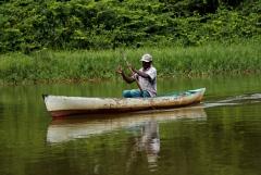 Fishing - Monkey River , Belize