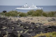 Galapagos Legend tour ship - Espanola, Galapagos Islands