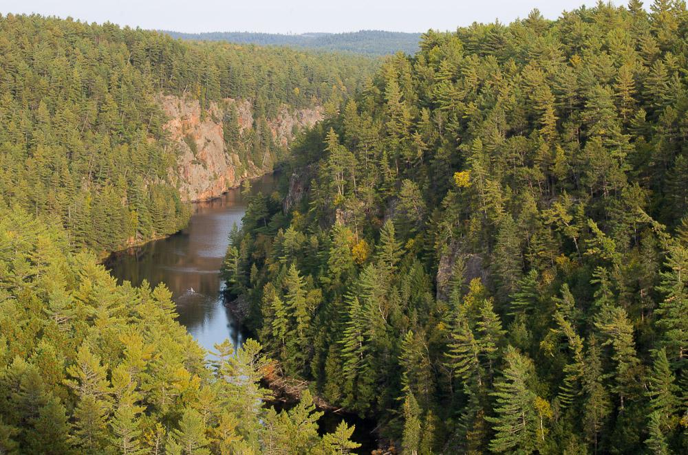 Barron Canyon River, Alqonquin Park, Ontario